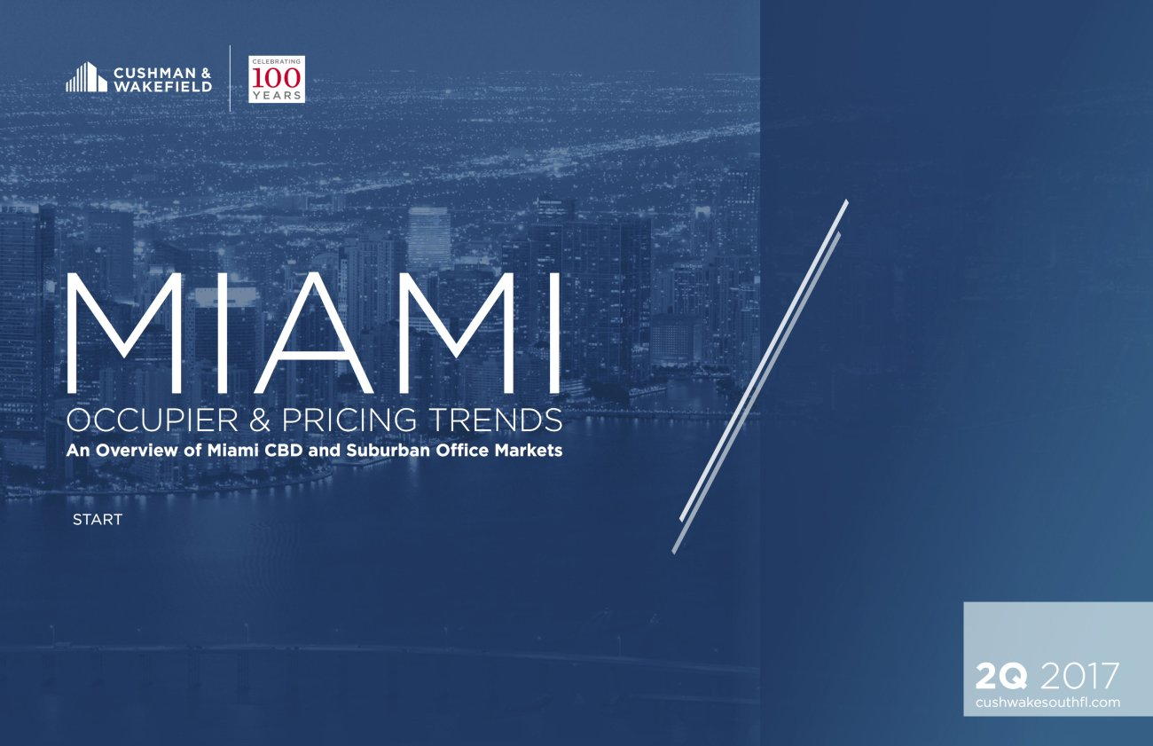 Cushman & Wakefield Releases Comprehensive Study of Miami Office Market