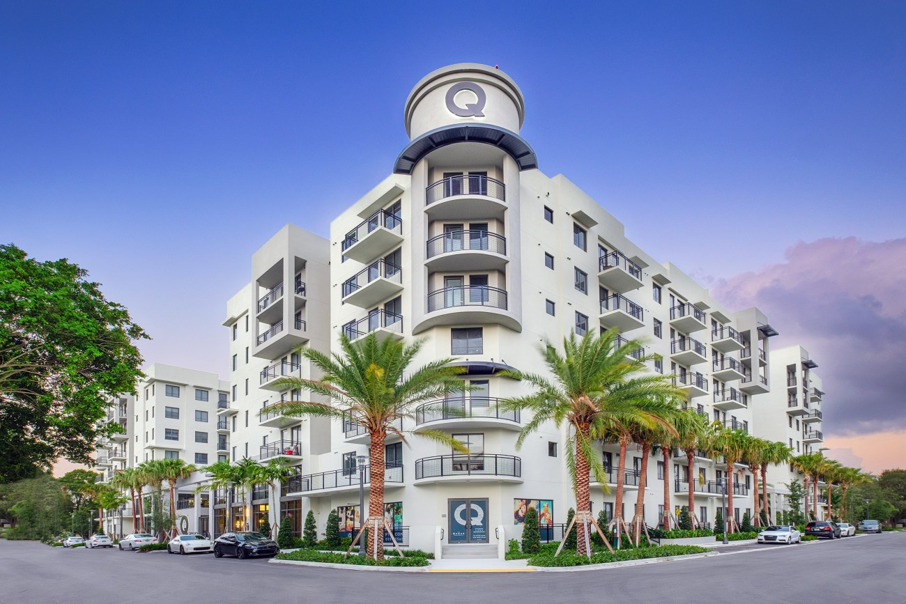 Cushman & Wakefield Negotiates $53M Sale of The Queue Apartments in Fort Lauderdale