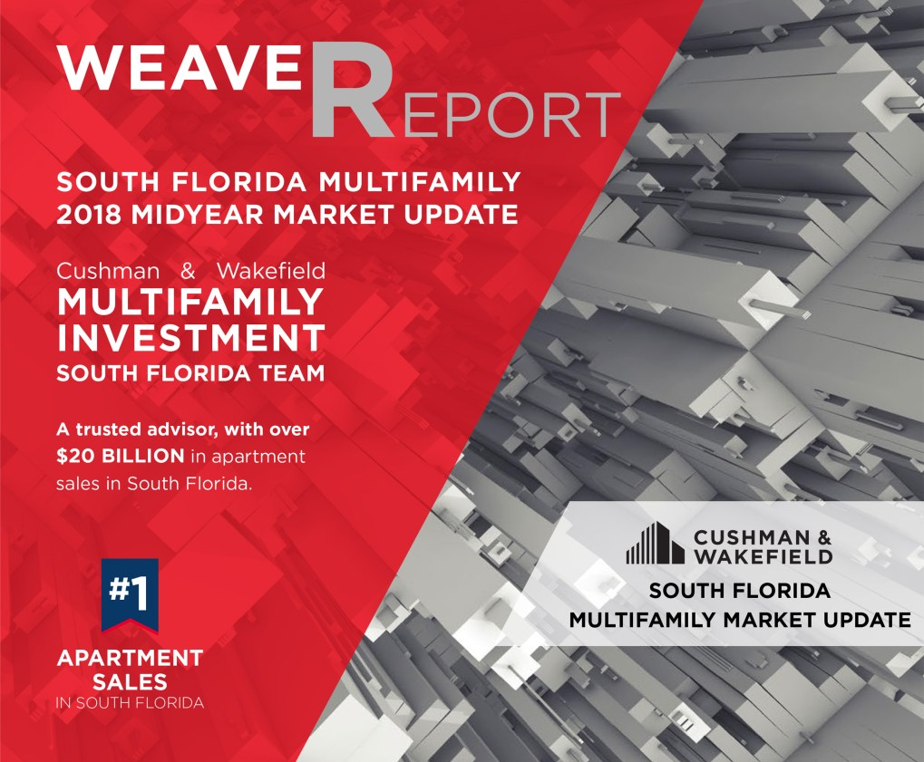 South Florida Multifamily 2018 Midyear Market Update