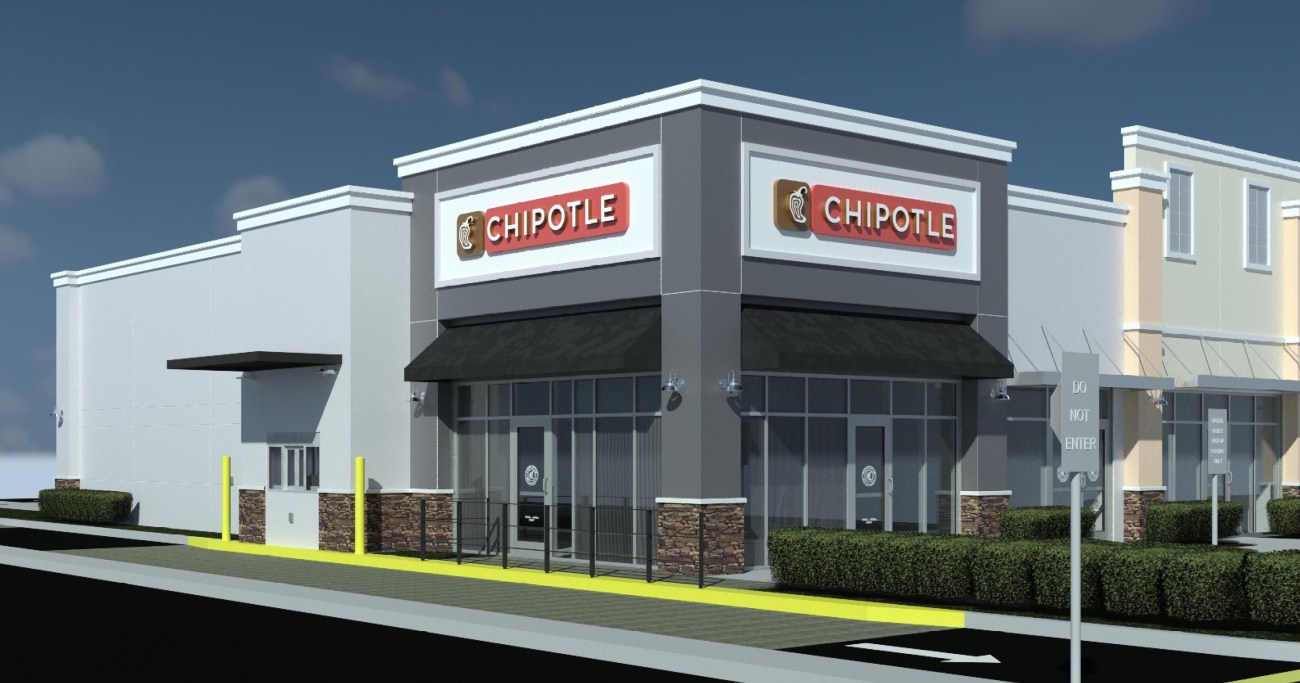 Florida's First 'Chipotlane' to Open at Southeast Centers' Rolling Oaks Commons
