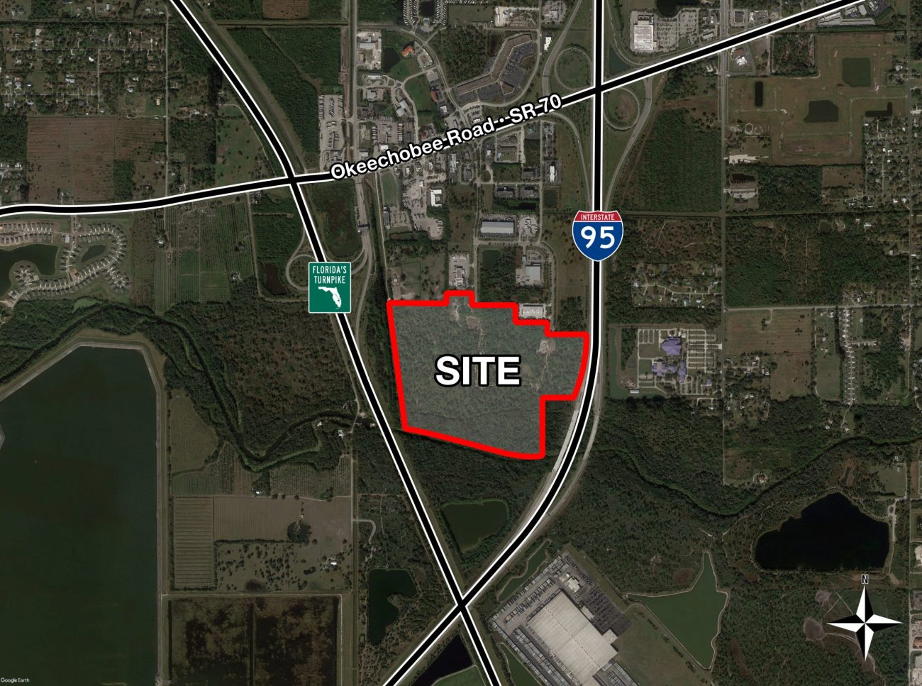 ‌‌Cushman & Wakefield Negotiates $3.5M Sale of ±132-Acre Development Site in Fort Pierce​