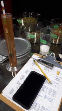 Measuring gravity.