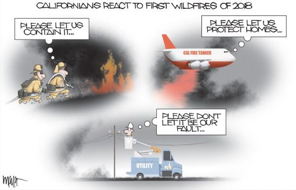 : California cartoons : Meyer Cartoons