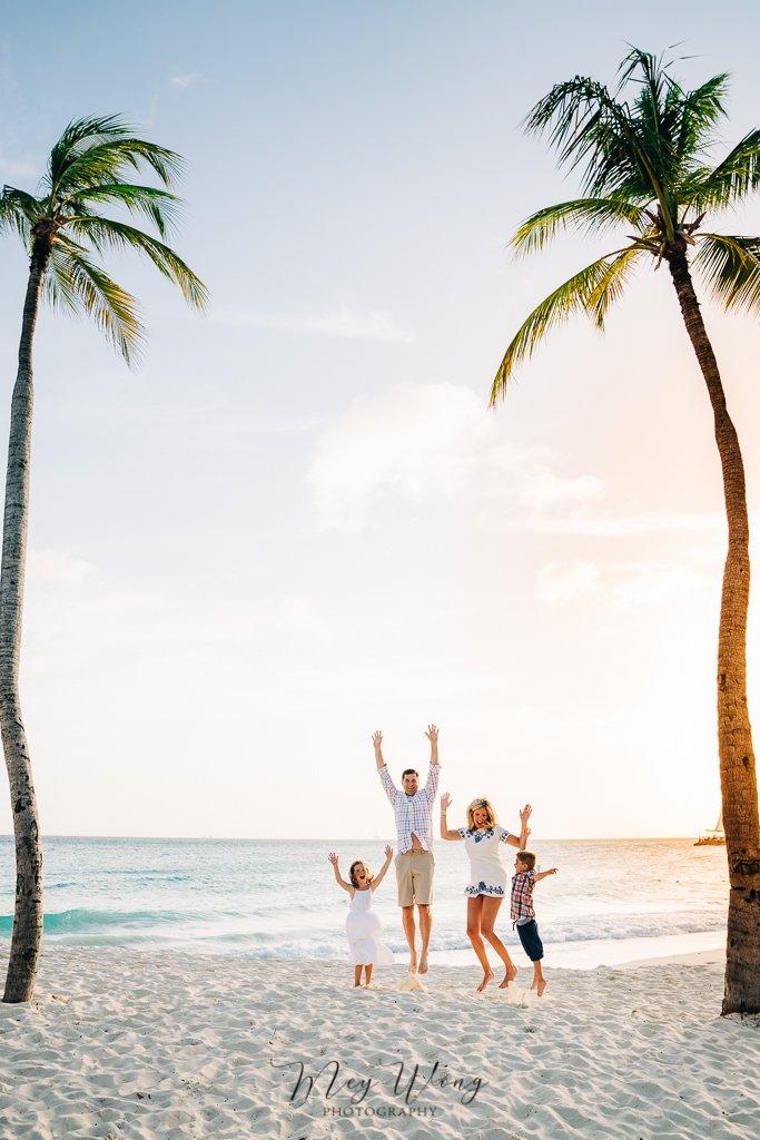aruba family photos