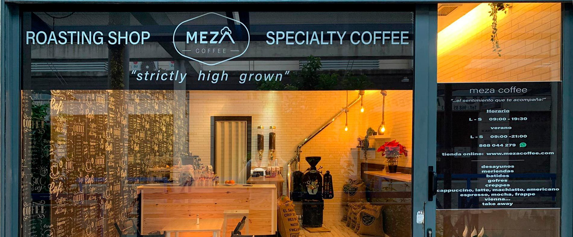 Meza Coffee Roaster Shop