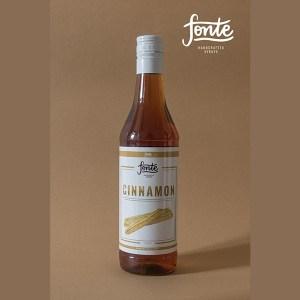 Fonte Cinnamon Syrup Meza Coffee