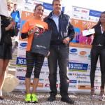 Silvia Luna seconda classificata nella 21Km Femminile