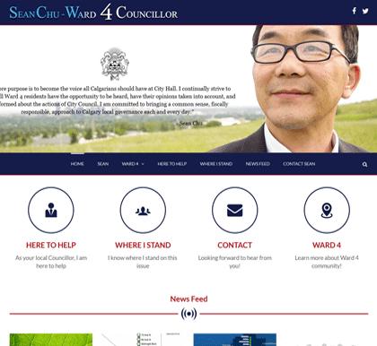 Sean Chu Ward 4 Councillor