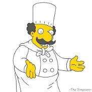 Luigi Risotto Simpsons