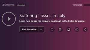 ItalianPod101 Audio Lessons