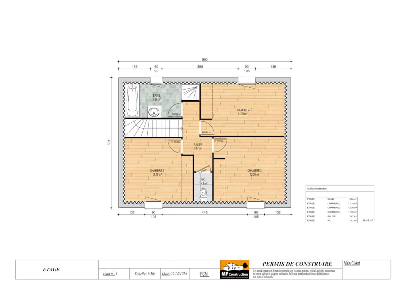 Plan Maison Moderne 1 Etage Maison Contemporaine Moderne Et Design D Architecte Constructeur