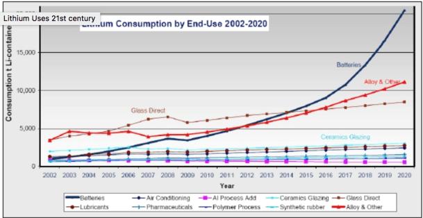 rare earth metals consumption