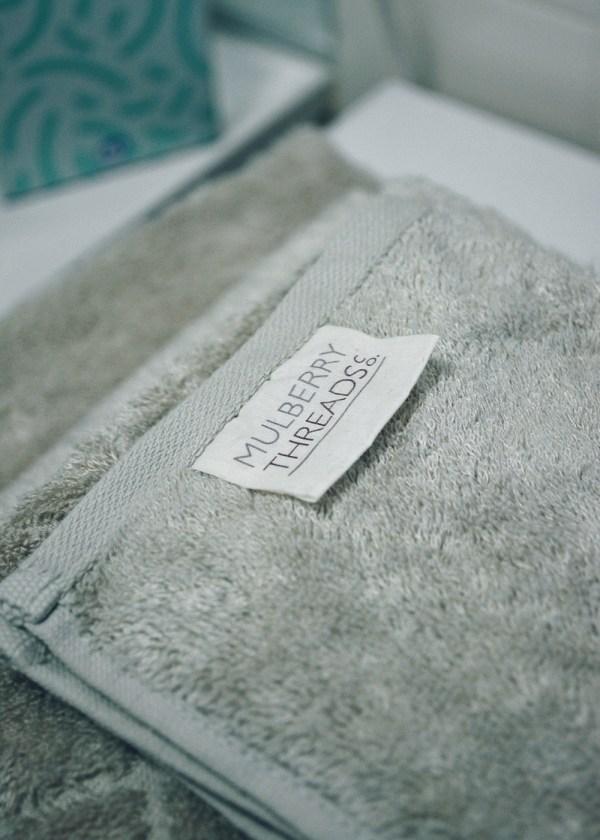MFARAI Mulberry Bamboo Bath Towels