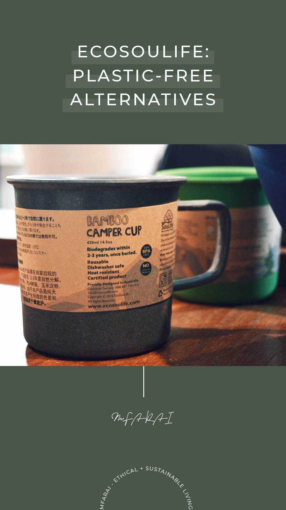 EcoSouLife Plastic-Free Biodegradable