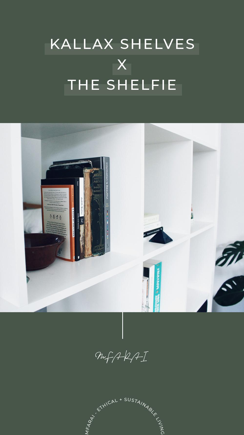 Sustainable IKEA Shelves Shelfie