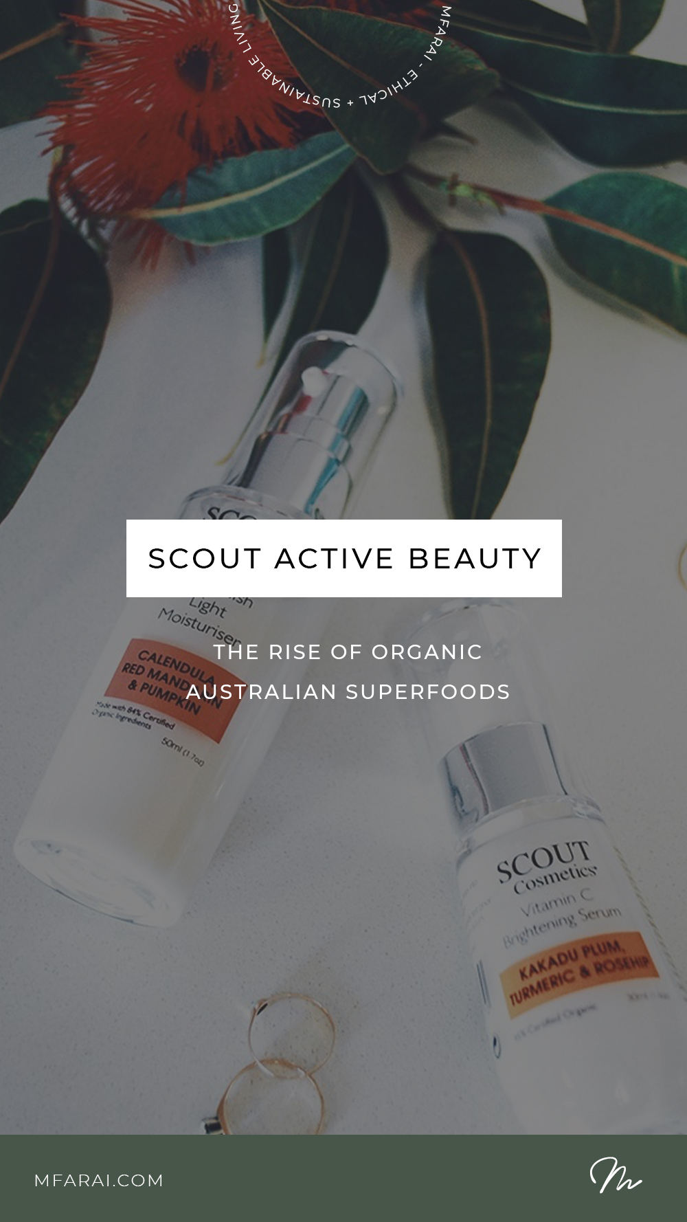 SCOUT Organic Active Beauty