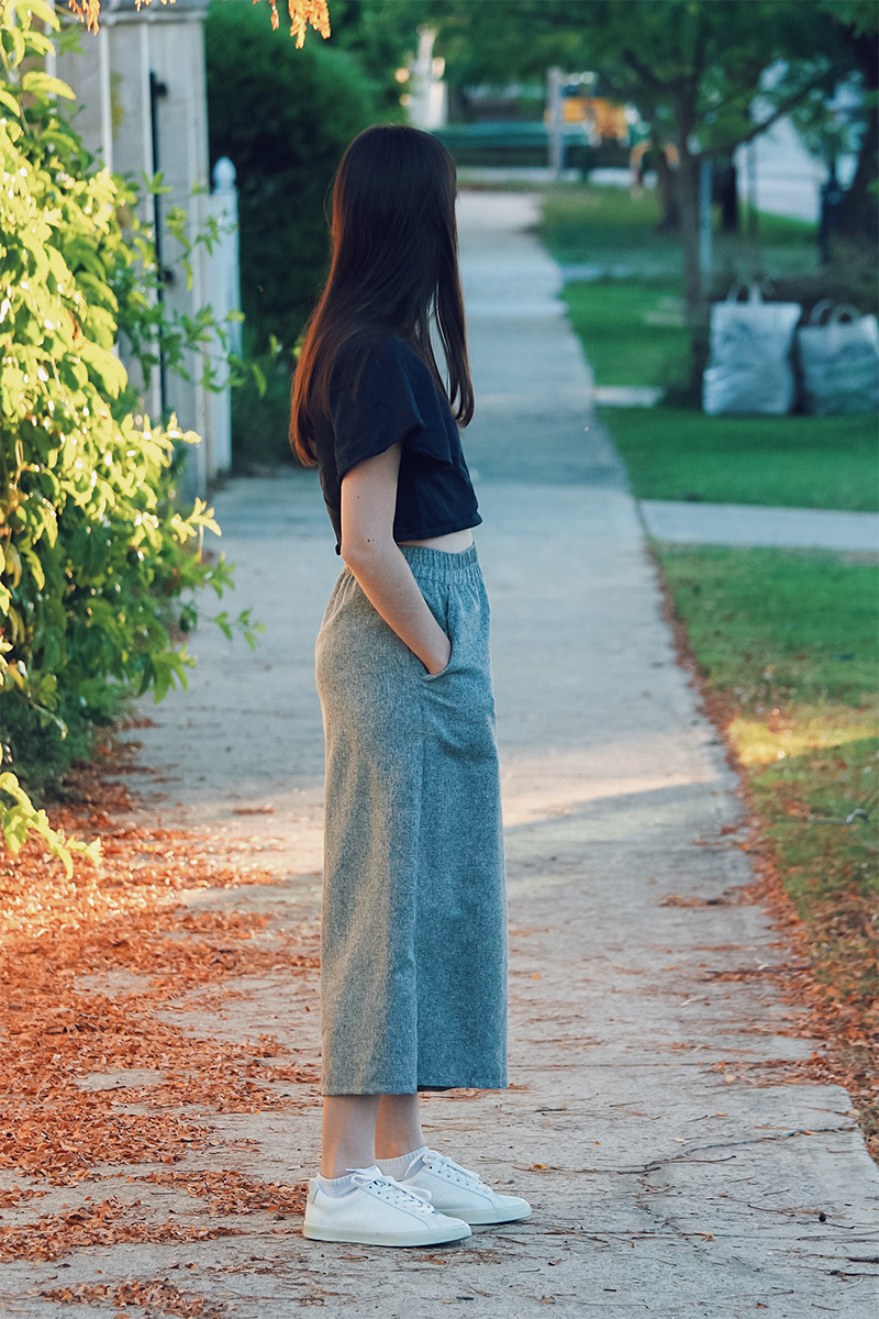 Theo the Label deadstock culottes