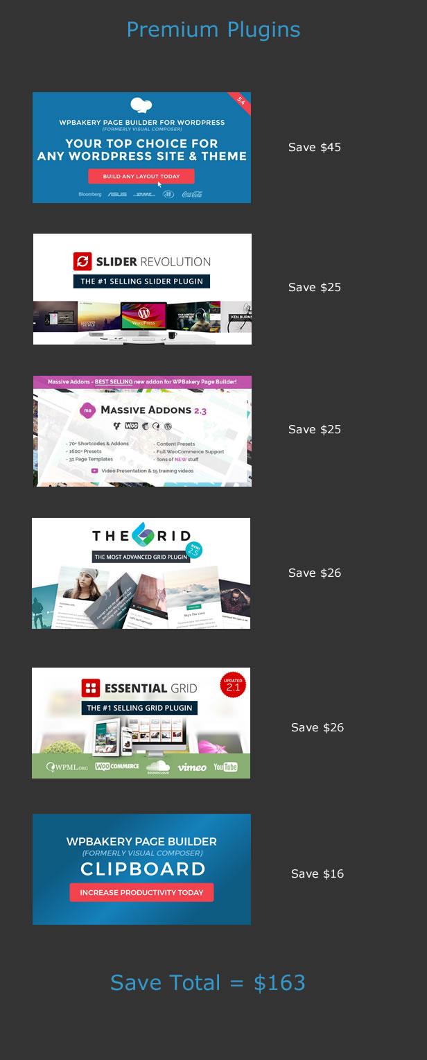 Premium WordPress Themes - Plugins