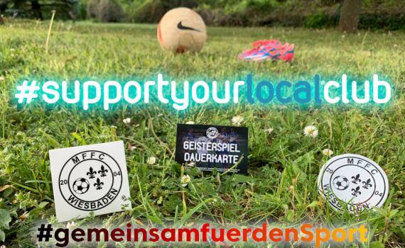 #supportyourlocalclub – Spendenaufruf