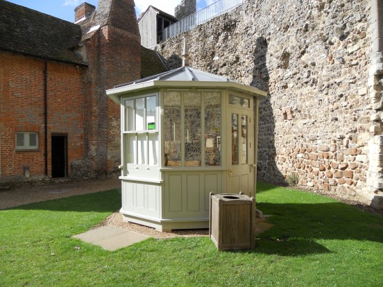 Refreshment kiosk, Framlingham Castle, Suffolk