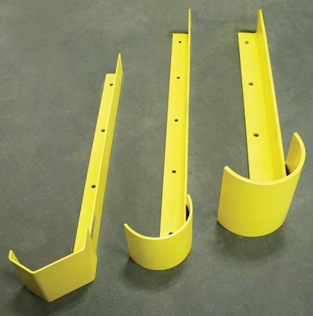 end of aisle warehouse rack protectors