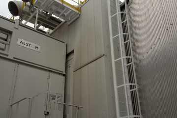 pasarelas para mantenimiento de turbinas