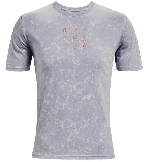 Bežecké tričko Under Armour Run Anywhere Sivá