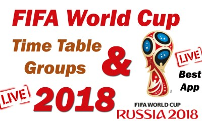 Fifa World Cup 2018 Schedule and Time Table aia file Free Download