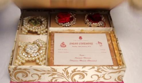 Mukesh Ambani Daughter Wedding Card