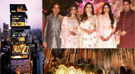 Mukesh Ambani Daughter Wedding Pics