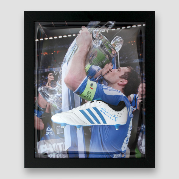 Frank-Lampard-Signed-and-Framed-football-Boot
