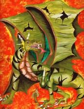Dragon by John Anson Harvey