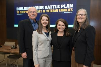 2018 Excellence in Research on Military and Veteran Families Award winner