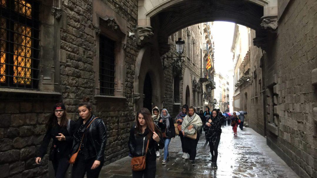 Arrivée et quartier gothique Barcelone (17)