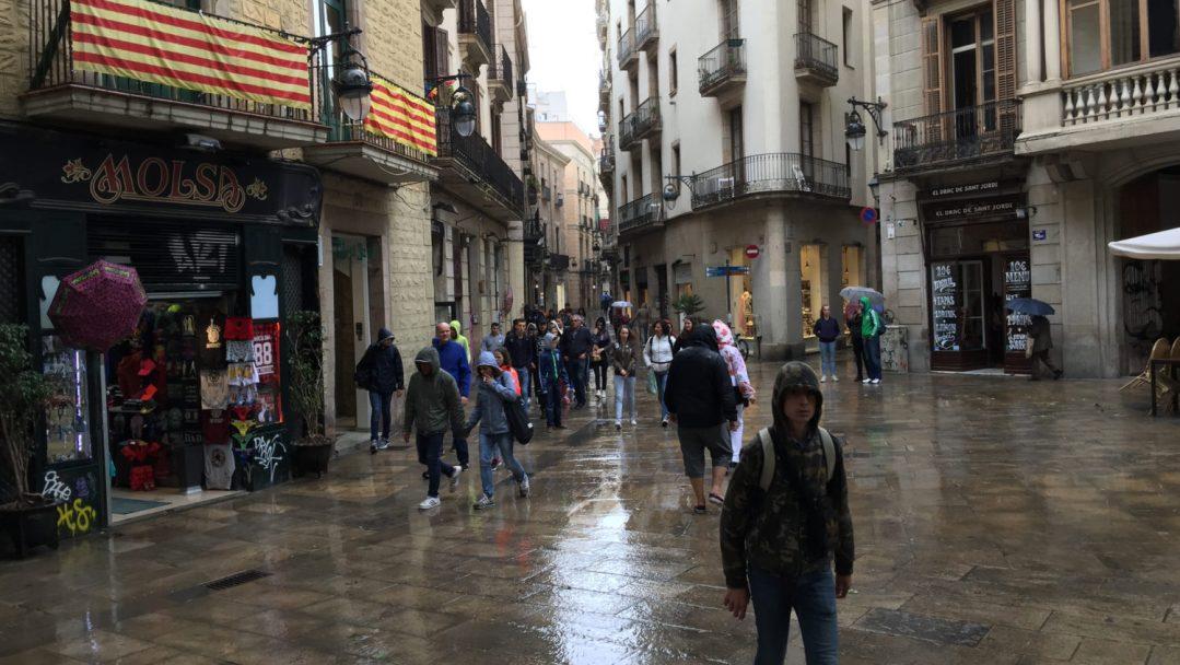 Arrivée et quartier gothique Barcelone (18)