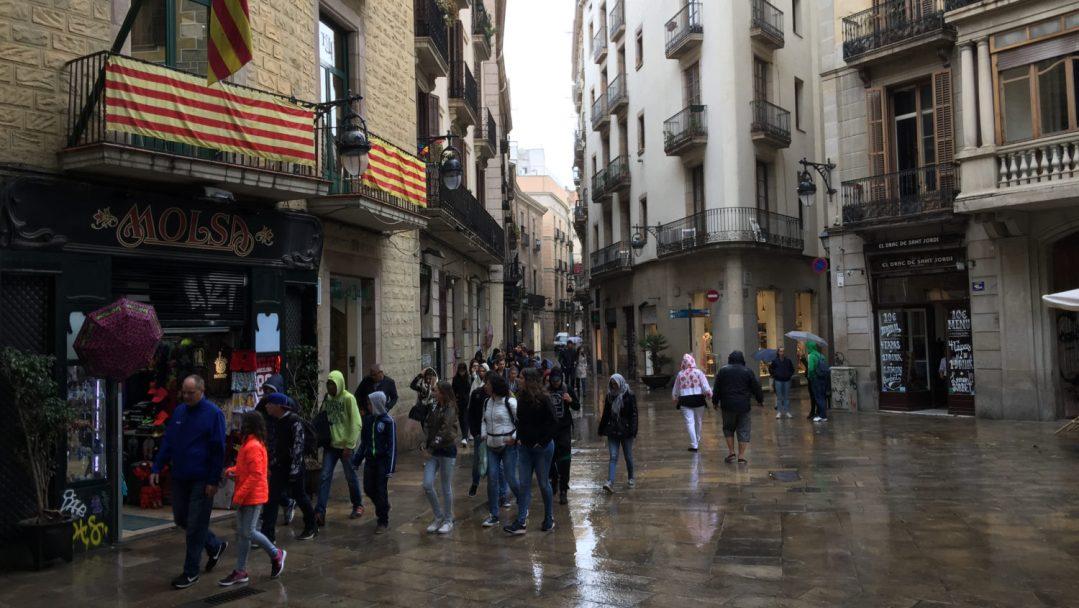 Arrivée et quartier gothique Barcelone (19)