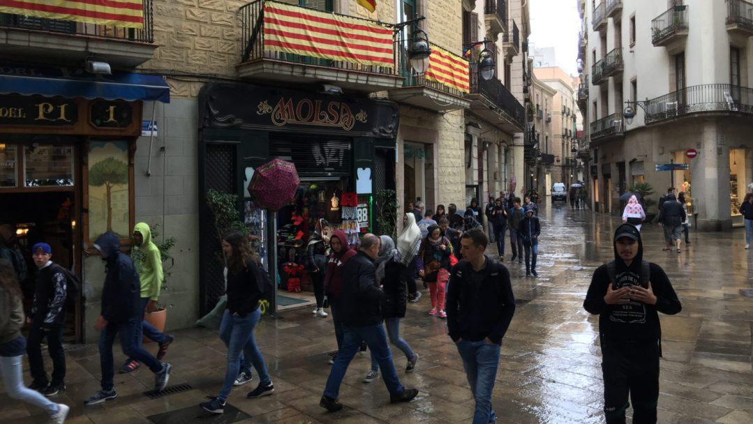 Arrivée et quartier gothique Barcelone (20)