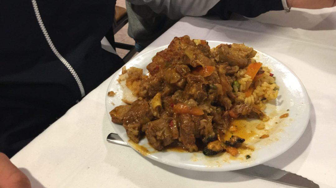 Diner et début veillée Barcelone (2)