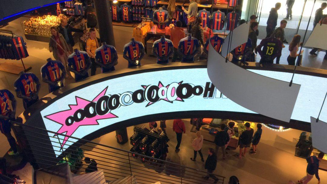 Visite du Camp Nou Barcelone (2)