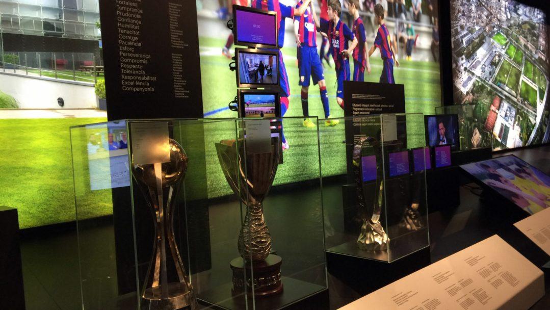 Visite du Camp Nou Barcelone (4)