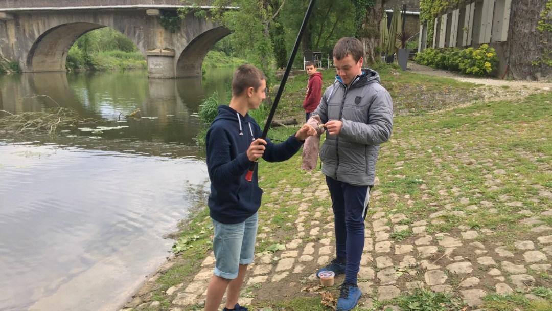 partager sa passion de la pêche