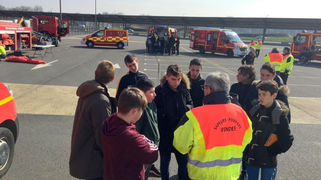 Animation Projet Pompiers BTS Bel-Air CFA MFR Puy-Sec (40)