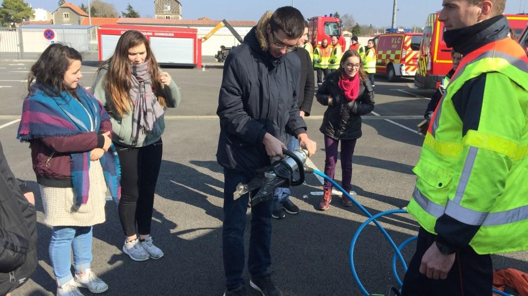 Animation Projet Pompiers BTS Bel-Air CFA MFR Puy-Sec (45)
