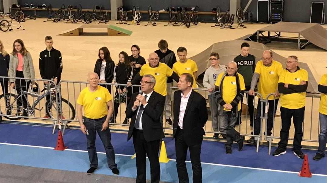 Au Tour Du Vélo Vendéspace Mars 2018 3è CFA MFR PuySec (46)