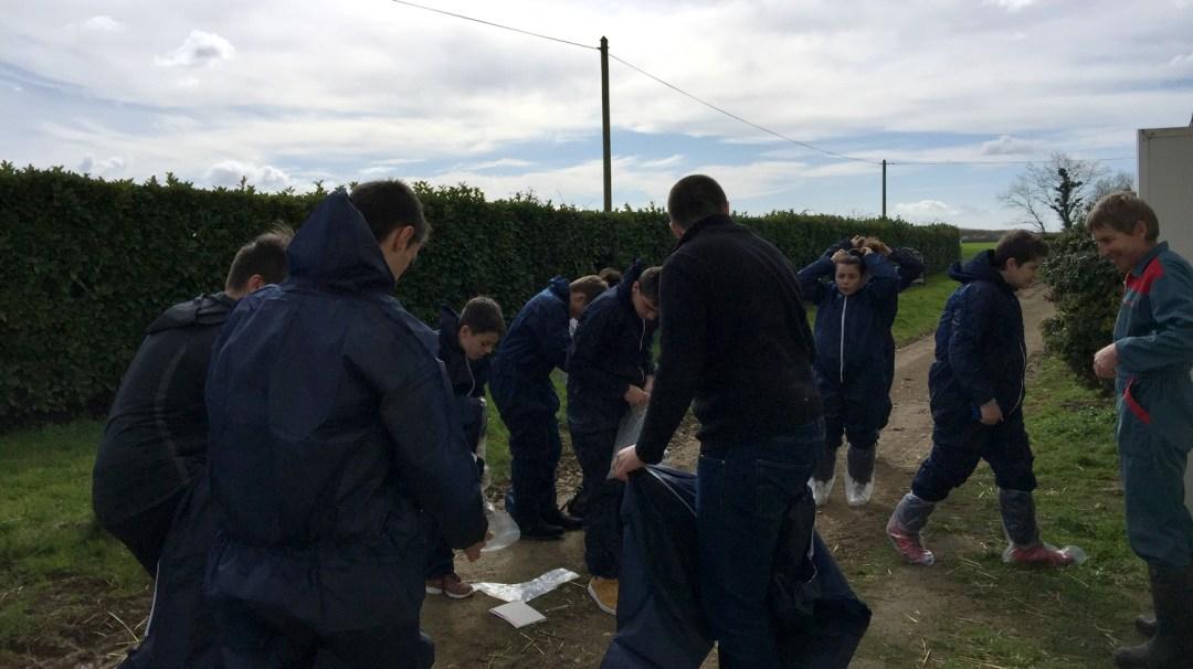 GAEC Poussignys Porcs Mars 2018 CFA MFR Puy-Sec saint-martin-de-fraigneau