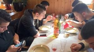 Jeudi Matin VE Suisse TA CFA MFR Puy-Sec Mars 2018 Restaurant les Poneys