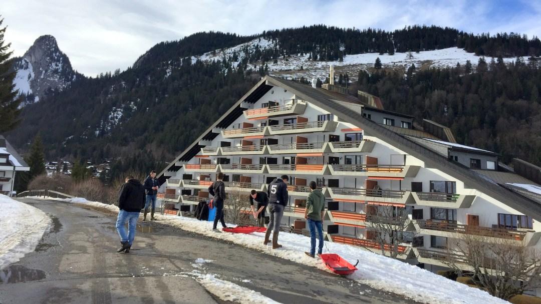 Luge au pays des spécialités suisse TA CFA MFR Puy-Sec Mars 2018