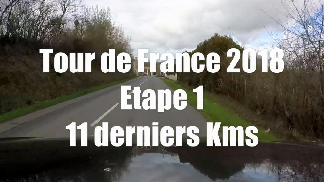 TDF2018 Arrivée à Fontenay-Le-Comte