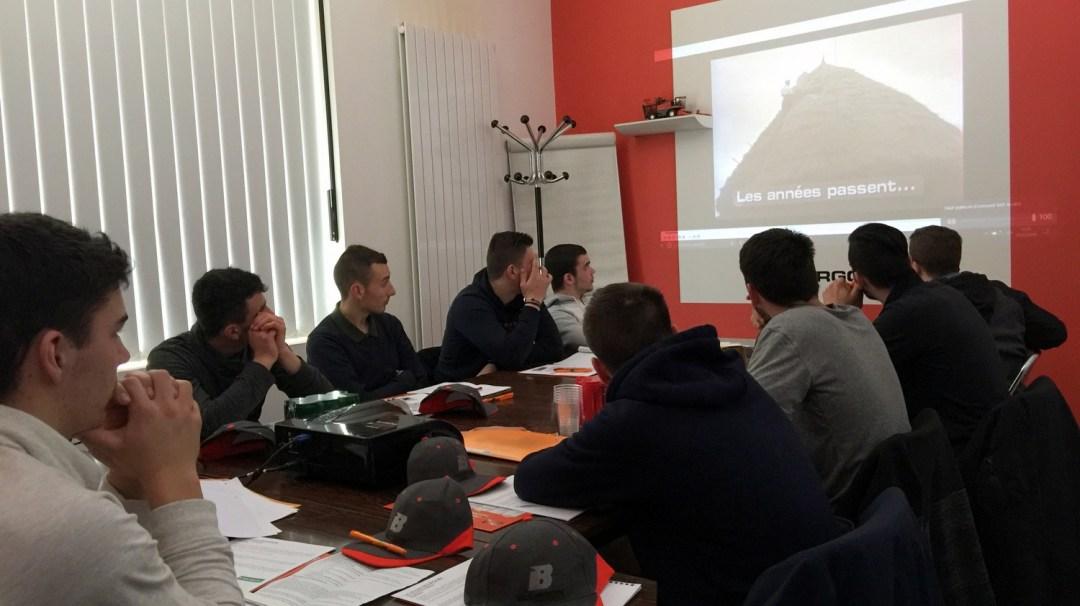 Visite Bourgoin Groupe Ploeger Oxbo TA1 Mars 2018 CFA MFR PuySec avec TA
