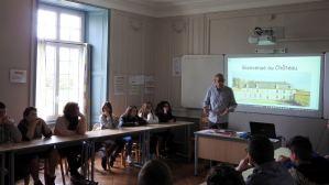 Accueil futurs 4e et 3e Ateliers Partagés CFA MFR Puy-Sec Avril 2018 présentation des MFR